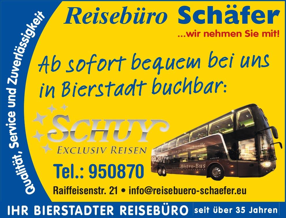 Busreisen Schuy - jetzt bei uns buchen